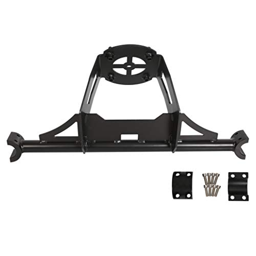 ECOTRIC Spare Tire Carrier Rack Mount Heavy Duty Fits 2014-2018 Polaris RZR XP 1000 XP Turbo XP 4 1000
