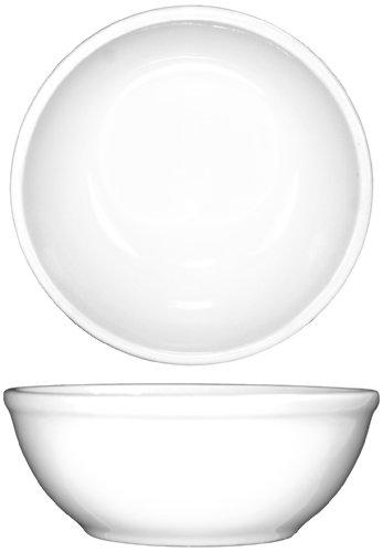 ITI-DO-24 Porcelain Dover 10-Ounce 5-Inch Nappie Bowl, 36-Piece, White