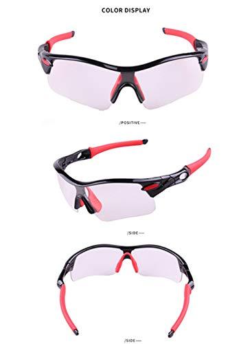 Prueba A Ciclismo En B Al Para Montaña Motocicleta Apjj Deporte De Uv Gafas Lentes Montadas Cambio c Protección Viento Color Libre Sol Aire Fotocromáticas xggI60qO