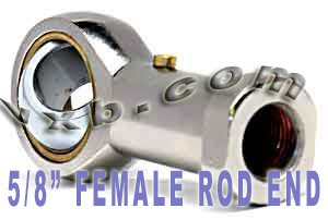 Female Rod End PHSB10 5/8 Right hand Ball ()