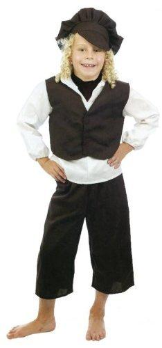 7-9 Y (Child Chimney Sweep Costume)