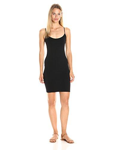 Sugarlips Women's Seamless Camisole Dress, Black, One Size