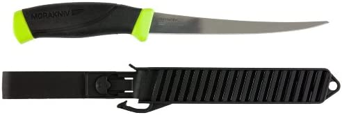 Morakniv Fishing Comfort Fillet Knife with Sandvik Stainless Steel Blade