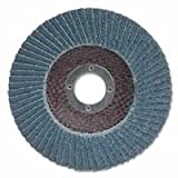 Merit Abrasives 481-08834190122 Type 29 Zirconia Alumina Contoured Raised Hub Powerflex Discs, 7 in., 60, Aluminum