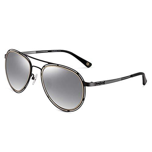 New Hollow Lunettes lunettes de Taille Miroir soleil Femme de de A polarisées de Frame Soleil Des Mode Conduite Sport wzfvBFWvq