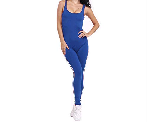 - happy-Adultparadise Yoga Set y Women Closed-Fitting Jumpsuit Gym Running Sport Wear Suit Workout Clothes,As The Picture,S