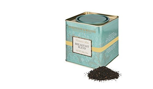 Fortnum & Mason British Tea, Breakfast Blend, 250g Loose English Tea in a Gift Tin Caddy (1 Pack) - Seller Model Id Lbbsfl098b - USA Stock