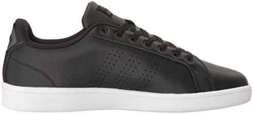adidas NEO Men's Cloudfoam Advantage Clean Sneakers, Black/Black ...
