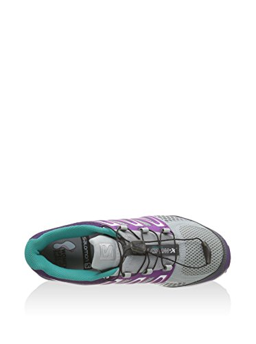 Claro wind X Zapatillas Pro Salomon Para Correr Morado Women's Gris qzd11wB5