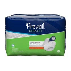 Pull Prevail (Prevail Per-Fit Extra Absorbency Incontinence Underwear Large 18 Count (Pack of 4) Breathable Rapid Absorption Discreet Comfort Fit Adult Diapers)