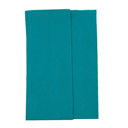 Microfiber stretchy Cotton Crotch Opaque Solid Color Footed Pantyhose Tights (teal)