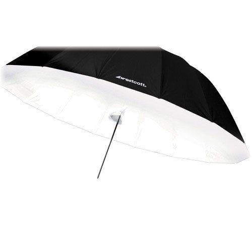 Westcott 4631D Parabolic Front Diffusion Cover (White) by Westcott