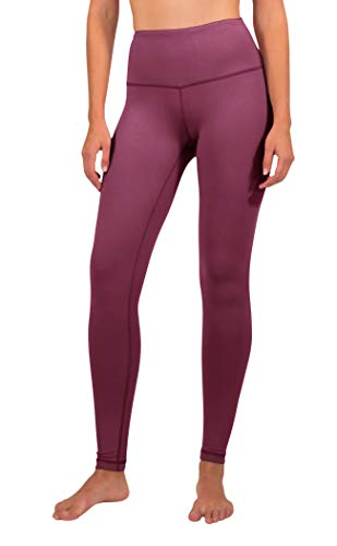 99ecba74beeb1d 90 Degree By Reflex High Waist Power Flex Legging - Tummy Control -  Twilight Magenta -