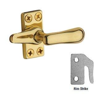 Baldwin 0492.102 Oil Rubbed Bronze Casement Fastener with Rim - Rim Baldwin Locks