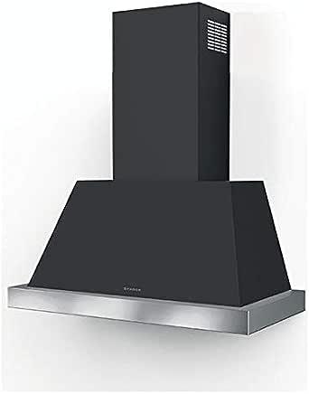 Faber THEA - Campana extractora de pared (80 cm), color gris oscuro: Amazon.es: Grandes electrodomésticos
