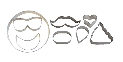 Emoji Party Cookie Cutter Puzzle Kit