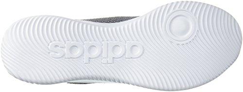 Scarpa Da Basket Adidas Mens Cf Refresh Mid Grigio Cinque / Bianco / Grigio Tre