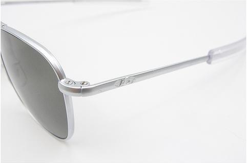 Polarized AO American Optical Original Pilot Sunglasses Matte Chrome ... f26a0a1bb8b