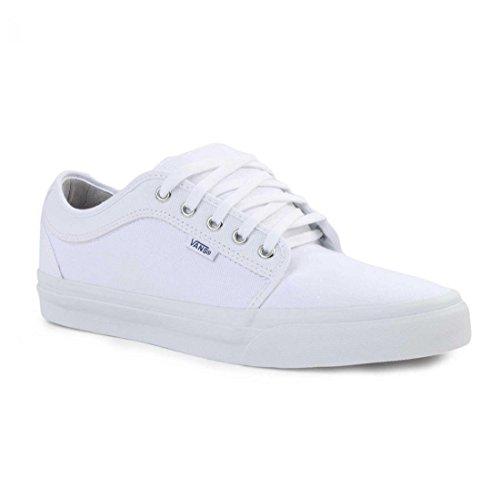 Vans Mens Chukkah Faible Chaussures De Skateboard Blanc / Gris Clair