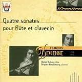 Devienne: Four Sonatas for Flute & Clavecin (Nos. 1, 2, and 3)