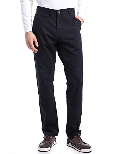 Eaglide Mens Classic Straight Leg Business Anti-Wrinkle Casual Pant,Mens Regular Fit Cotton-Ripstop Chino Flat Front Pants