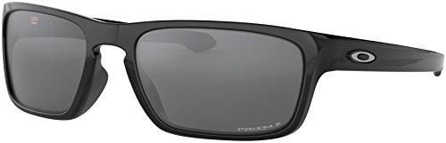 - Oakley - Sliver Stealth Asian Fit - Polished Black Frame-Prizm Black Polarized Lenses