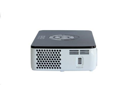 ارخص مكان يبيع AAXA Technologies P300 Pico Projector with Rechargeable Battery - Native HD resolution with 500 LED Lumens, For Business, Home Theater, Travel and more