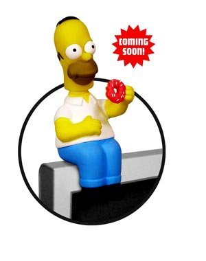 SIMPSONS :HOMER 'Computer Sitter' bobble-head https://amzn.to/2Tlc2sd