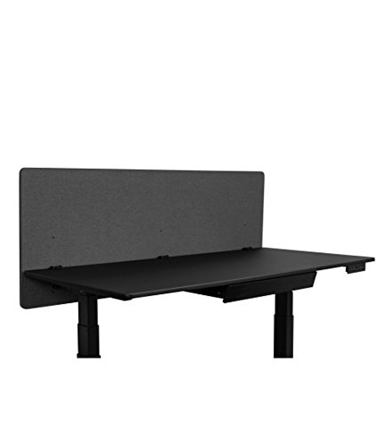 ReFocus Acoustic Rear Mount Desk Dividers | Desk Privacy Panel - Reduce Noise and Visual Distractions with This Easy to Install Desk Screen (60