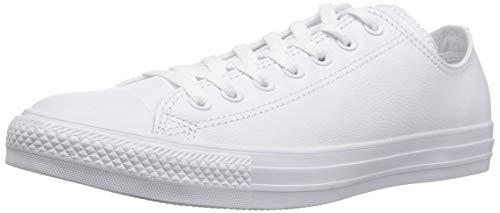 Mandrin Inverse Taylor All Star B?uf En Cuir Mono Adulte 15460 Unisexe - Blanc Baskets (monocrom)