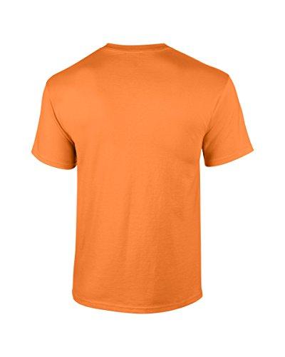 Gildan shirt À Homme T Manches Courtes Orange Tangerine rRUnrTq5