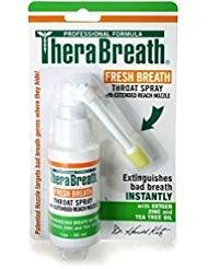 TheraBreath Plus Oral Spray 1 oz (Pack of 12)