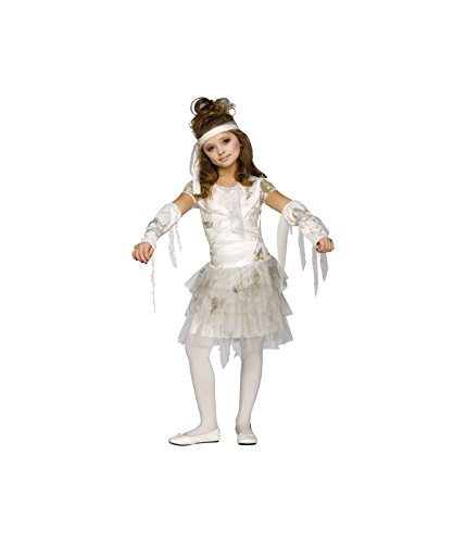 Girls Mummy Dress Halloween Costume