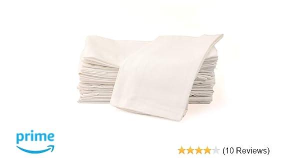 10 Pack premium white 100/% cotton restaurant wedding dinner cloth napkins 20x20