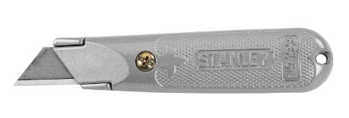 Stanley Hand Tools 10-199B Classic 199 Fixed Blade Utility Knife, Aluminum (Best Utility Knife For Drywall)