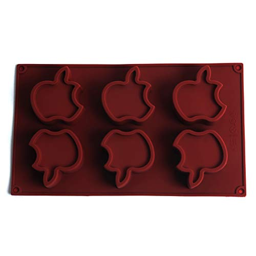le Shape Silicone Cake Mold Cute Pudcoco Molds Lollipop Chocolate Mould Ice Tray DIY Soap Forms ()