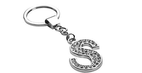 Letter S Keychain (Diamante)