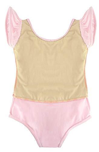 e0f75d581203 Dancina Flutter Sleeve Skirted Leotard for Girls