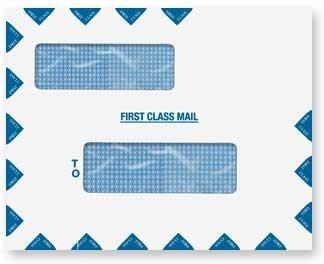 - EGP Landscape Envelope, Double Window Peel-n-Seal, Size 9 1/2