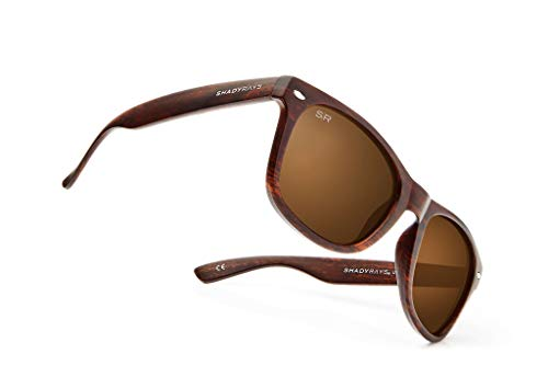 Shady Rays Classic Series Polarized Sunglasses Amber Woods