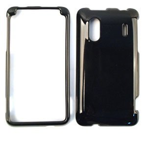 Solid Black Phone Cover Faceplate - 6