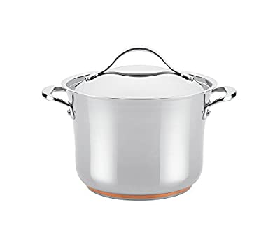 Anolon Nouvelle Copper 6.5-qt. Stainless Steel Covered Stockpot