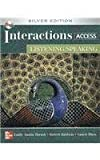 img - for Interactions Access - Listening /Speaking SB + eCourse Code: Silver Edition by Emily Thrush (2008-12-09) book / textbook / text book
