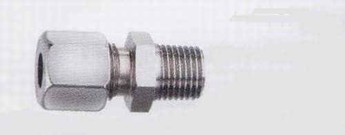 Schneidringverschraubung 3//8 AG x 15 mm mit zylindrischem Gewinde