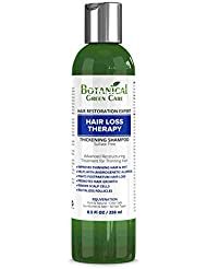 """""""Hair Loss Therapy"""" Sulfate-Free Caffeine Shampoo. Alopecia Prevention and DHT Blocker. Doctor Developed. NEW 2018 FORMULA!"""