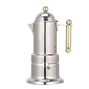 Cafetera Moka para hacer espresso, Percolador de espresso de acero ...