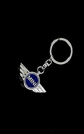 automotiva azul Mini Logo cromado estilo con Logo de la ...