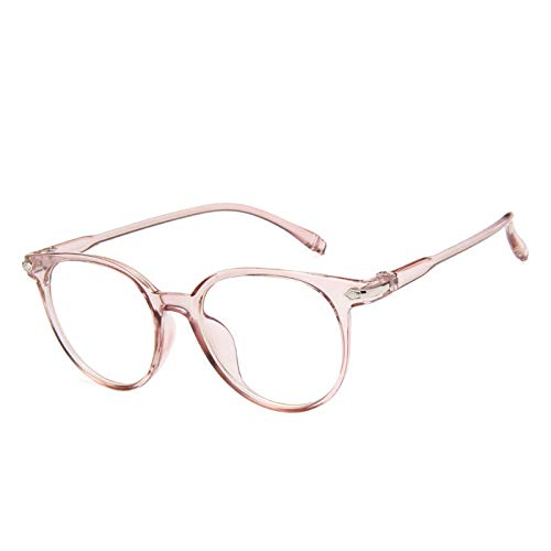 Qjoy Women Spectacle Optical Frame Glasses Clear Lens Lady Vintage Computer Anti-Radiation ()