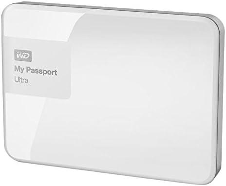 brillantwei/ß Western Digital My Passport Ultra 500 GB Externe Festplatte USB 3.0