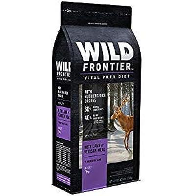 NUTRO 792253 4 lbs Wild Frontier Vital Prey Dry Dog Food - Lamb & Venison44; 4 Count